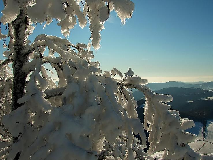 Zamrznutý výhľad.