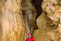 Jaskyňa mŕtvych netopierov - najkrajšia časť jaskyne
