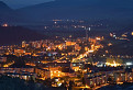 Noc nad Dolným Kubínom