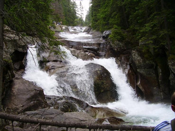 Vodopády-Studený potok
