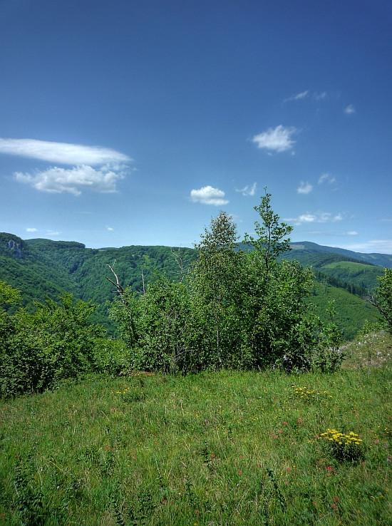 Havrania skala a Šajbová dolina