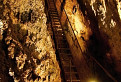 Jaskyňa Rákoczi - rebrík