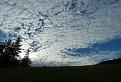 Hra svetla a oblakov
