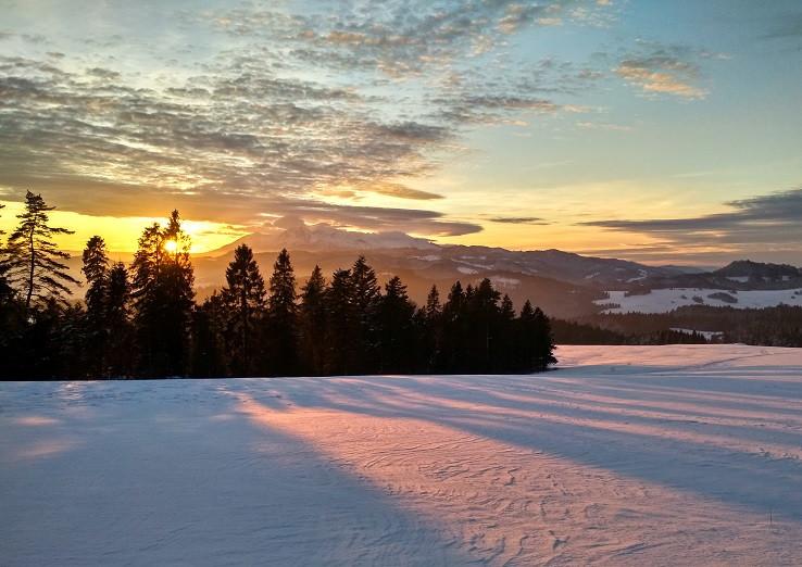 10 minút pred západom slnka