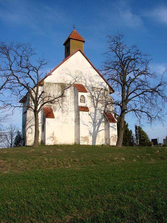 Nová Dedinka, starý kostol