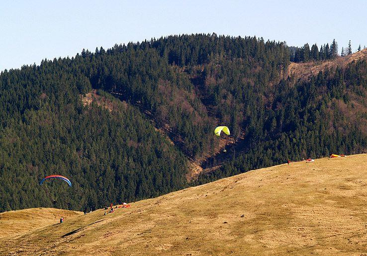 Paraglidisti I.