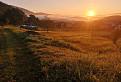 Ráno nad dedinou
