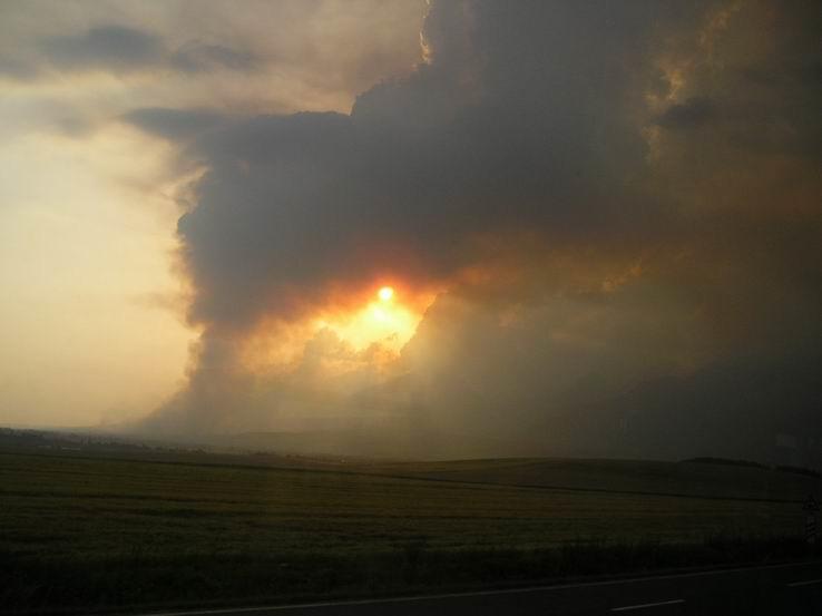 Požiar v Tatrách