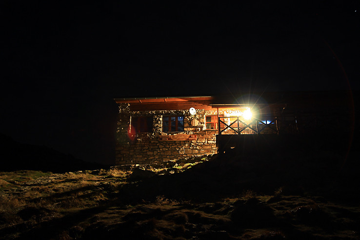 Kamienka v noci