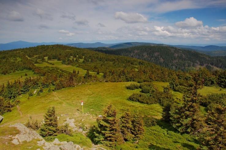 Výhľady zo Skaliska  1293 m.n.m.