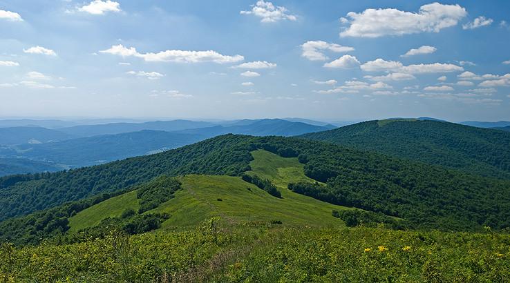 Bukovské vrchy z Ďurkovca