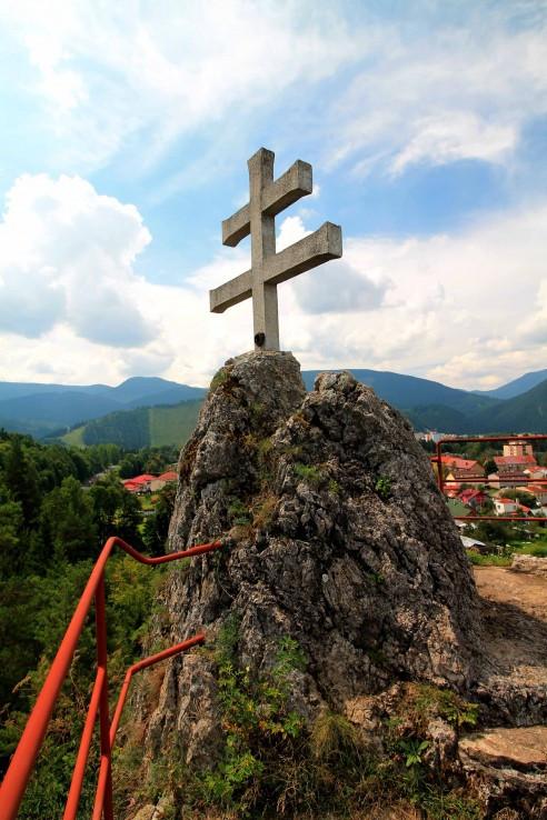 Dvojramenný kríž