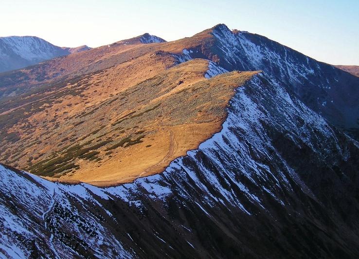 Jesennozimný hrebeň