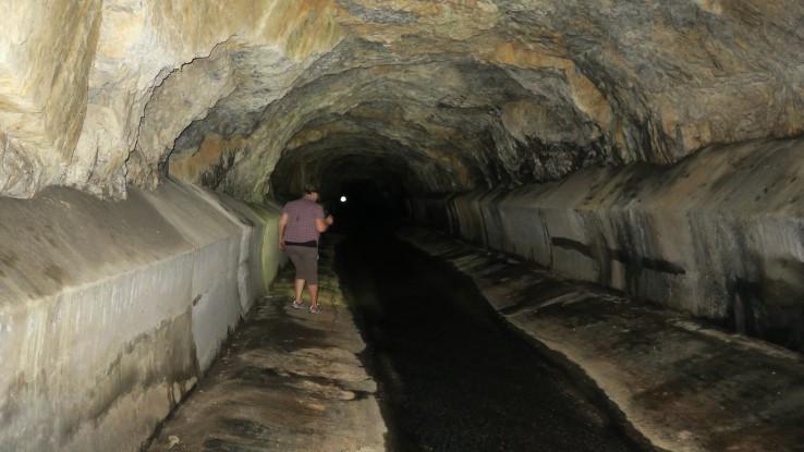 Markušovský Orenburg - riečny tunel