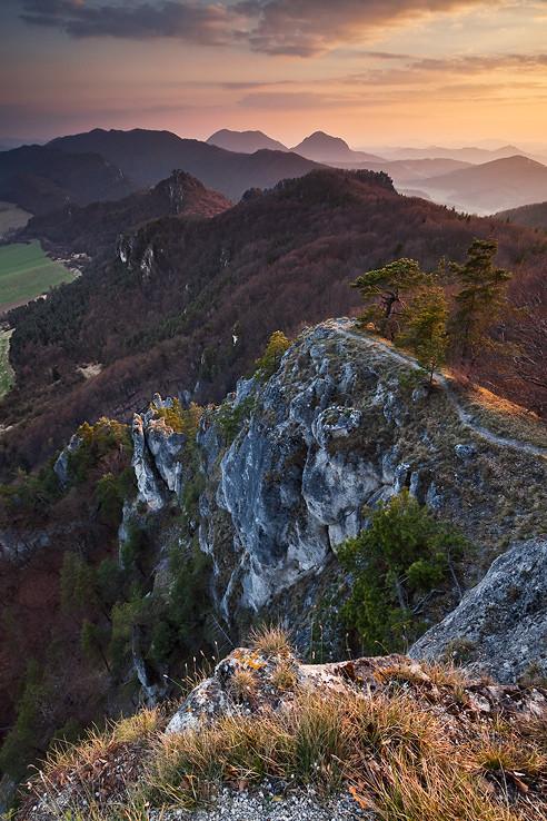 Podvečer v skalách