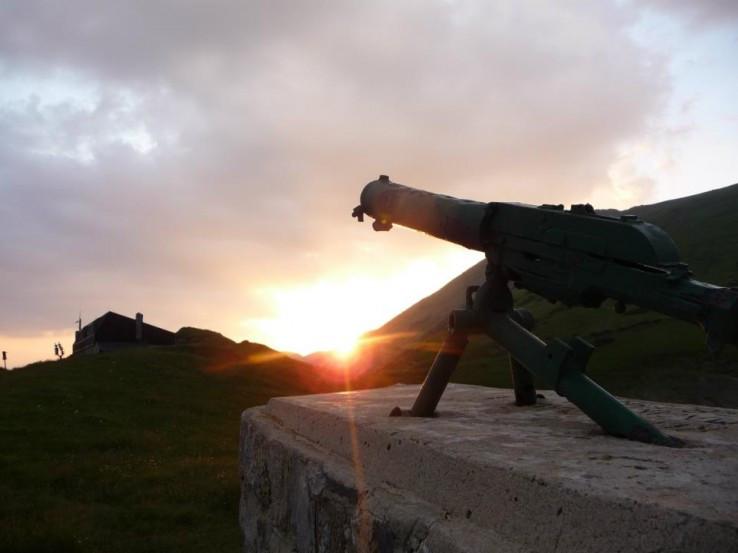 Zapad slnka na MRS-ke