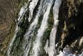 Hrhovský vodopád v zime