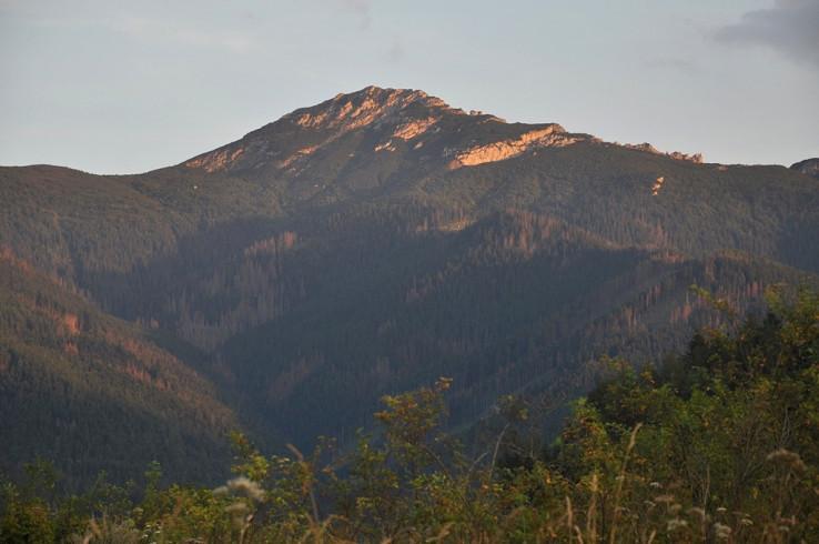 Podvečerný Sivý vrch