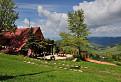 Pred turistickou chatou Koliba