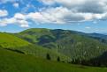 Popod Veľkú hoľu cez Latiborskú hoľu a ďalej na západ