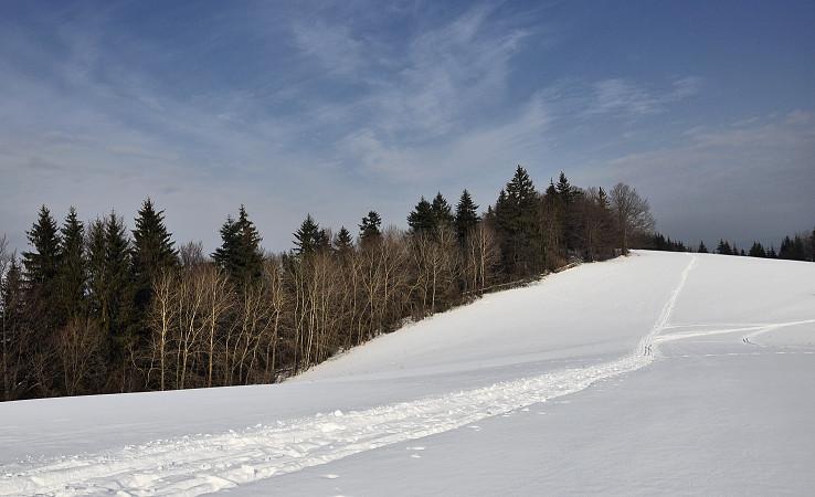 Zima na Krnáčoch