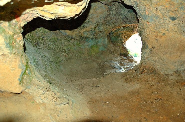 V jaskyni Zwergenloch