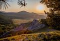 Západ Slnka z Jelenej hory