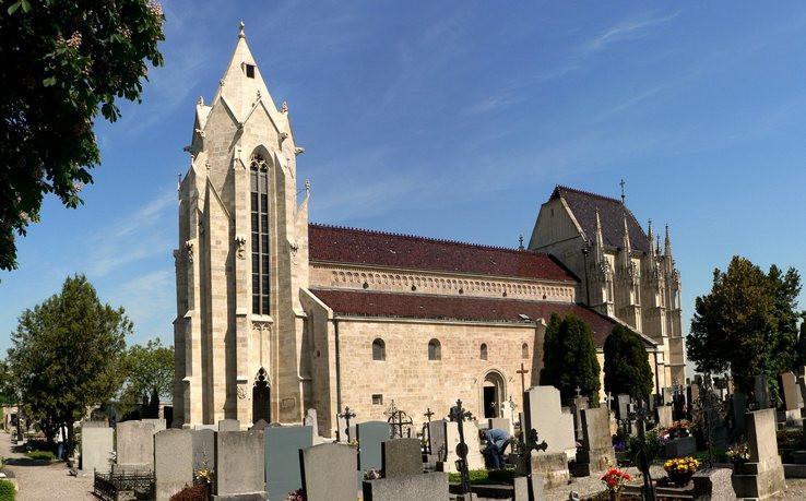 Kostol v Bad Deutsch Altenburgu