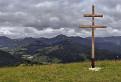Pochmúrne popoludnie na hrebeni Zvolena