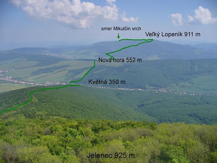 Lopeník - Jelenec