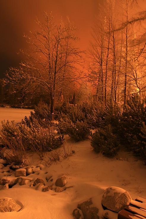 Štrbský oranžový večer