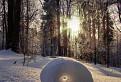 snehový valček