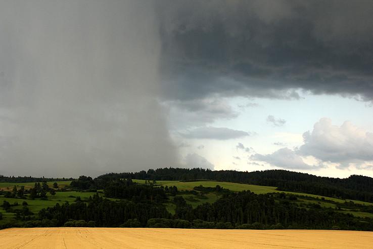 letná búrka