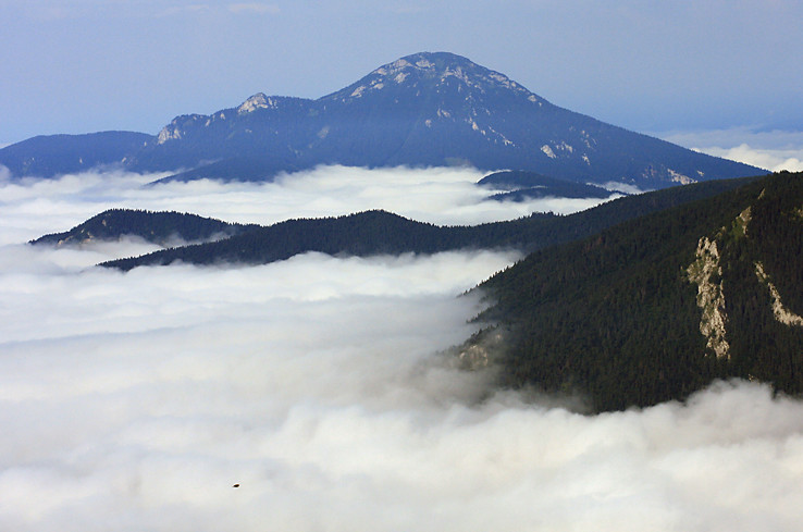 Veľký Choč a hmly