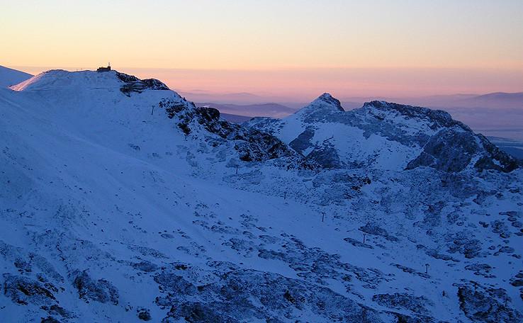 Kasprov vrch a Giewont
