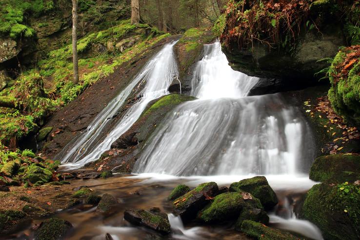 Predajnianske vodopády 1
