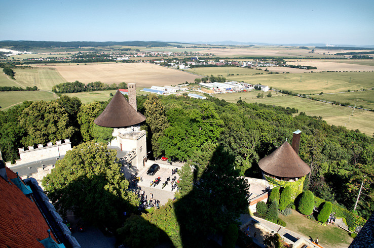 Z veže smolenického zámku II.