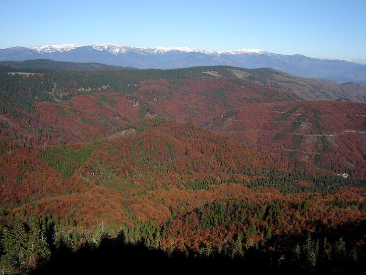 Jesenné farby Rudohoria