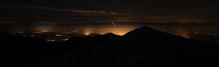Liptov v noci