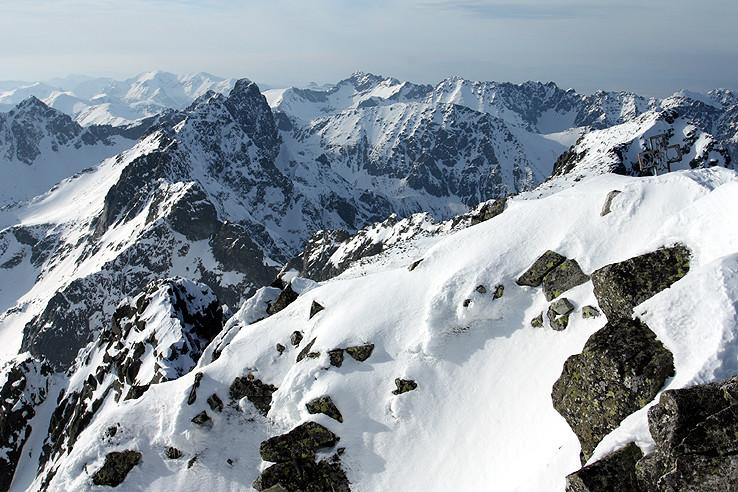 Hlavným hrebeňom Tatier
