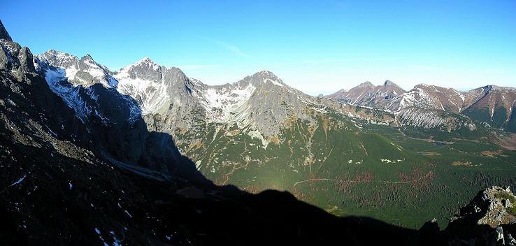 Panoráma z Veľkej Svišťovky