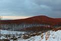 Pohľad na Sklený vrch (584 m n. m.)