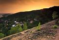 Západ slnka nad Špaňou Dolinou