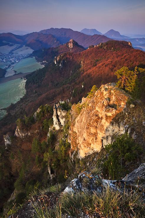 Ráno v skalách II.