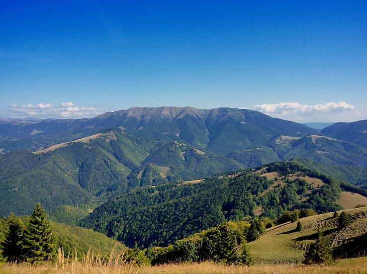 Nízke Tatry z Malého Zvolena