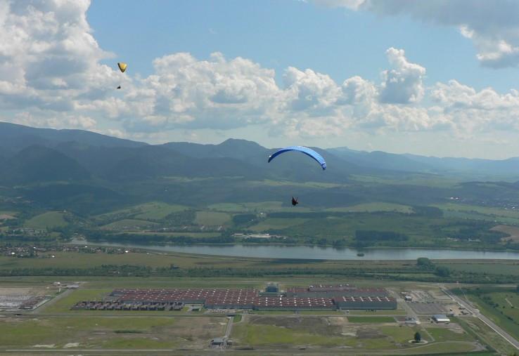 V Žiline sa paraglidingu darí...