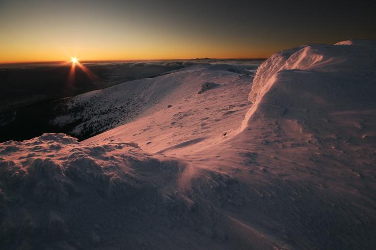 Zapad slnka na Kralovej holi