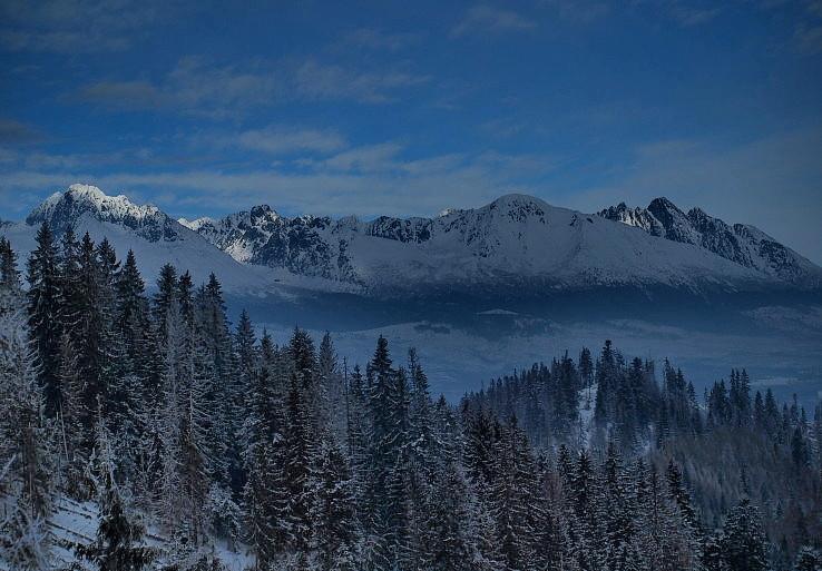 Vysoké Tatry od Čiernej