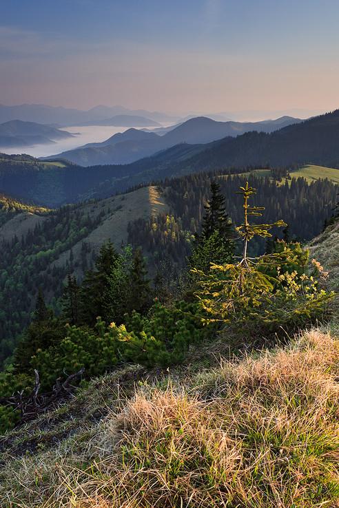 Ráno v horách I.