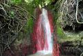 Červený vodopád